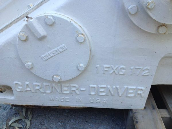 Gardner Denver 1FXG Mud Pump 3