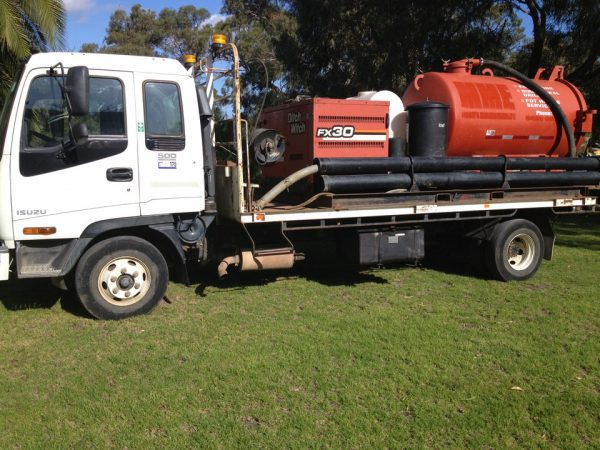 Ditch Witch FX30 Vacuum Recovery System 1