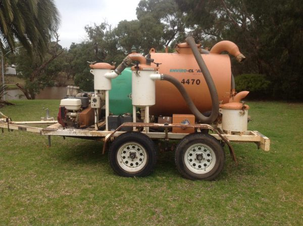 2008 JB Sales Vacuum Excavation Trailer 1