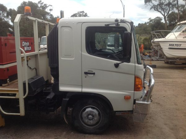 2005 Hino Ranger with 2012 Ditch Witch FX30 8