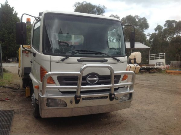 2005 Hino Ranger with 2012 Ditch Witch FX30 9
