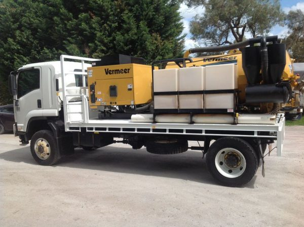 2012 Isuzu FTS800 with Vermeer SKV800HD 7