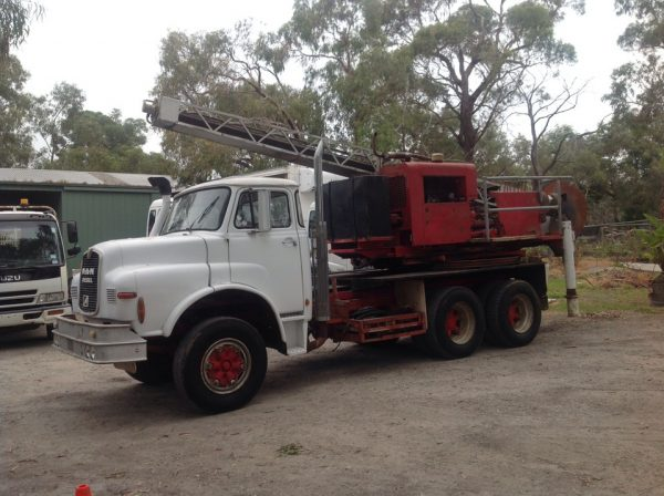 Pengo 250/20 Foundation Drilling Rig Mounted on a Man 24-192 Carrier 1